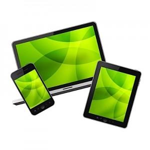 tablet and mobile website design